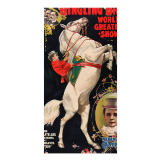 Ringling Bros. World's Greatest Shows Picture Card