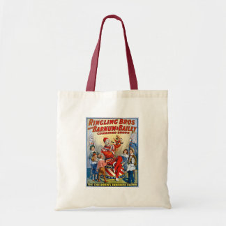 Ringling Brothers & Barnum & Bailey Vintage Clown Budget Tote Bag