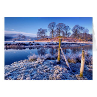 River Brathay Reflections, The Lake District Greeting Card