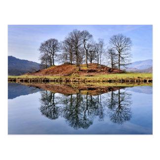 River Brathay Reflections, The Lake District Postcard