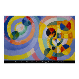 Robert Delaunay - Circular Forms Poster