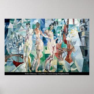 Robert Delaunay - City of Paris Poster