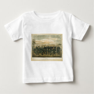 Robert E. Lee & his Civil War Confederate Generals T-shirt