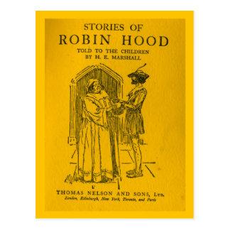 Robin Hood As Told Postcard