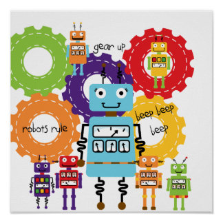 Robots Rule Poster