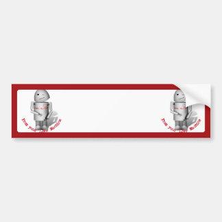 Robox9 - From  Your Love Machine Bumper Sticker