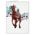 Rock'n Roll Rodeo Greeting Card