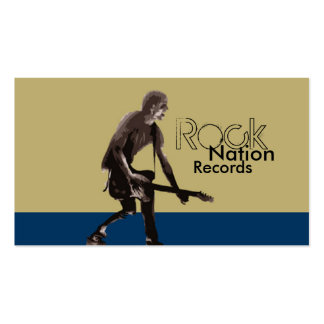 Rock Nation Records Pack Of Standard Business Cards