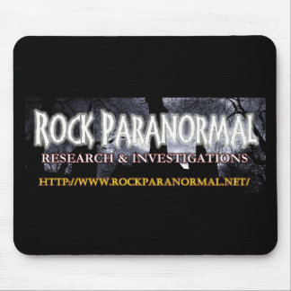 Rock Paranormal Logo Accessories Mouse Pad