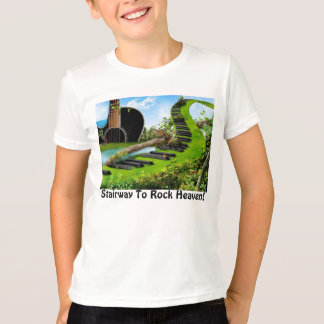 Rockers Stairway To Heaven! - Boys Ringer T T Shirts