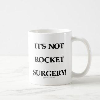 Rocket Surgery Basic White Mug