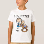 Rocking Horse Big Sister T-shirts and Gifts