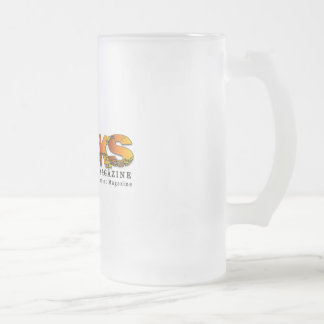 Rocks Frosty Beer Bug Frosted Glass Mug