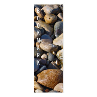Rocky shore bookmark pack of skinny business cards