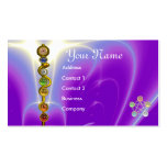 ROD OF ASCLEPIUS,7 CHAKRAS,YOGA ,SPIRITUAL ENERGY PACK OF STANDARD BUSINESS CARDS