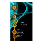 ROD OF ASCLEPIUS,7 CHAKRAS ,YOGA,SPIRITUAL ENERGY PACK OF STANDARD BUSINESS CARDS