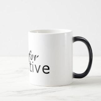 Roll for initiative morphing mug