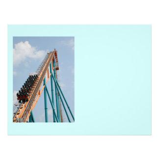 Roller Coaster 21.5 Cm X 28 Cm Flyer