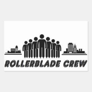 ROLLERBLADE CREW RECTANGULAR STICKER