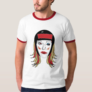 Rollerderby shiner T-shirt