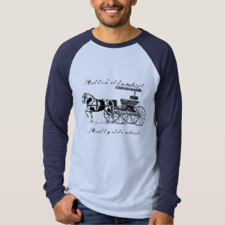 Rollin' olde school t shirt