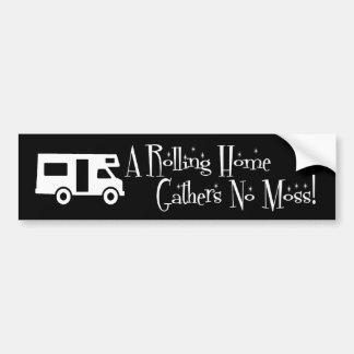 Rolling Home Bumper Sticker