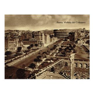 Roma, Veduta del Colosseo Postcard