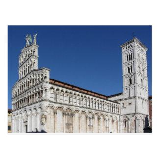 Roman Catholic basilica church Postcard
