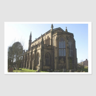 Roman Catholic Church in England Rectangular Sticker