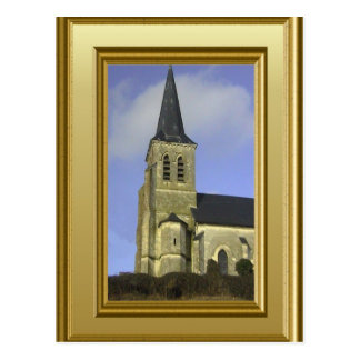 Roman Catholic Church, Northern France Postcard
