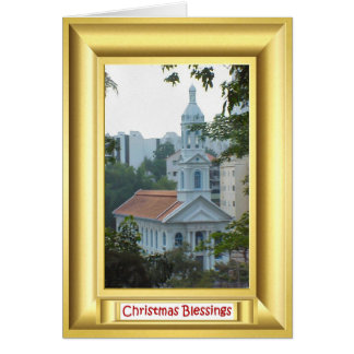 Roman Catholic Church, Singapore Greeting Card