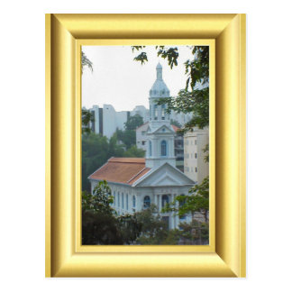 Roman Catholic Church, Singapore Postcard