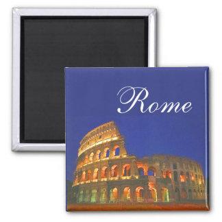 Roman Coliseum Square Magnet