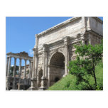 Roman Forum Arch Of Titus - Rome, Italy Postcard