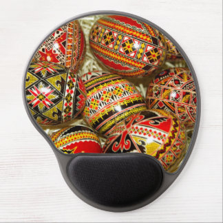 Romanian Easter Eggs Gel Mouse Pad