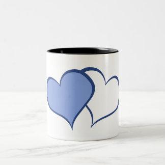 Romantic His BETTER HALF HE+he (1 of 2) Two-Tone Mug
