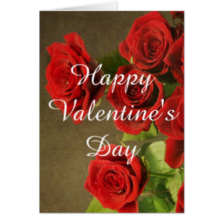 Romantiv Valentines Day Card