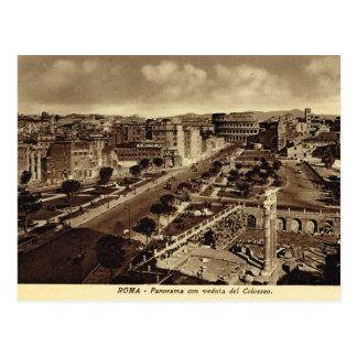 Rome, Veduta del Colosseo  1890 Postcard