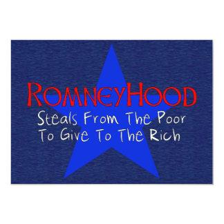 Romney Hood 13 Cm X 18 Cm Invitation Card