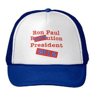 Ron Paul R LOVE ution! Revolution 2012! Cap