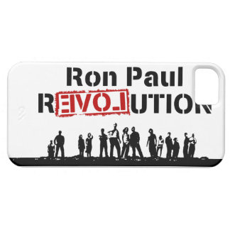 Ron Paul rEVOLution with Supporters iPhone 5 Cover