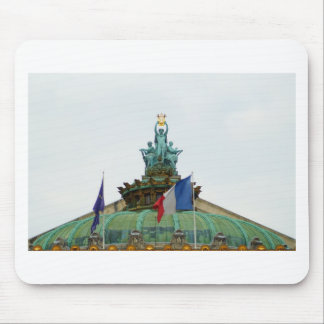 Rooftop of the Opera Garnier in Paris, France Mouse Pad