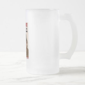 root_for_us frosted glass mug