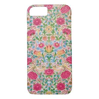 Rose Design with Birds iPhone 7 Case
