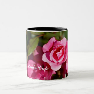 Rose Mom's Cup Two-Tone Mug