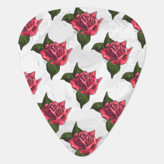Rose Pattern Plectrum