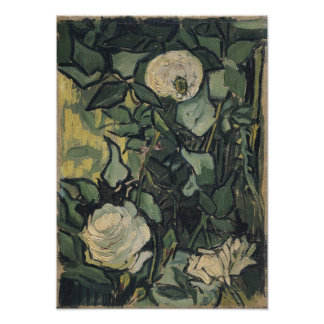 Roses by Vincent Van Gogh Photograph