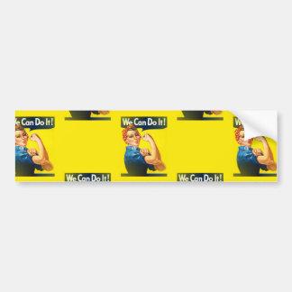 rosie bumper sticker