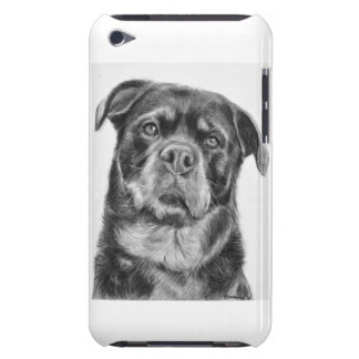 Rottweiler Drawing Barely There iPod Cases