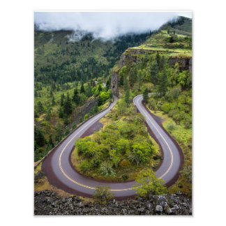 Rowena Crest Loops - Oregon Photo Art